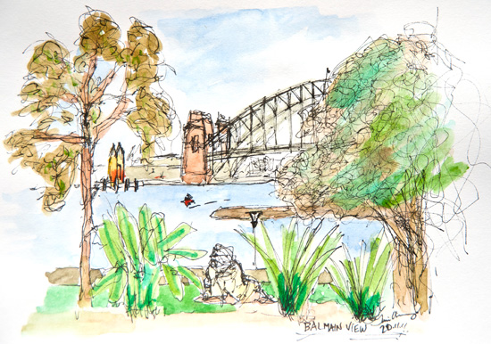 Sketch from Balmain East