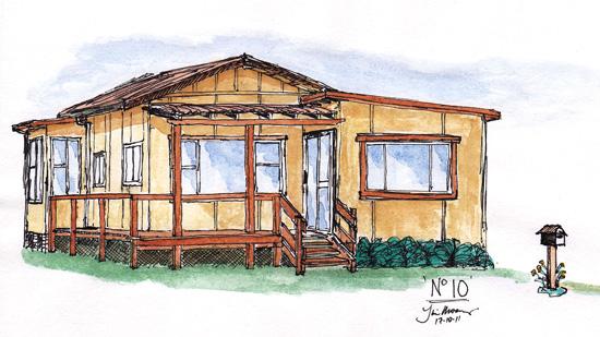 Fibro cottage