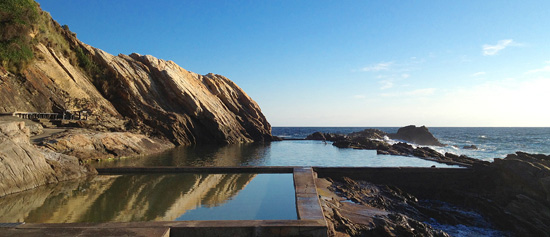 photo of blue pool Bermagui